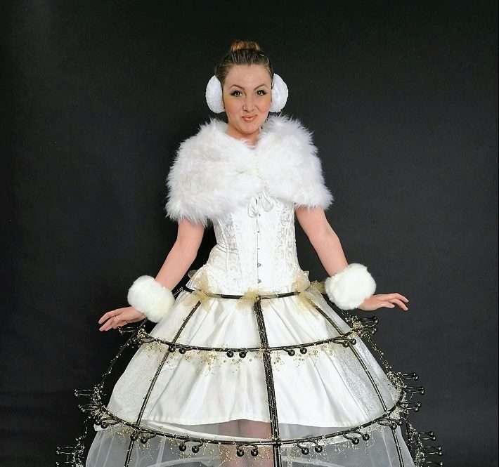 Christmas Star Skirt