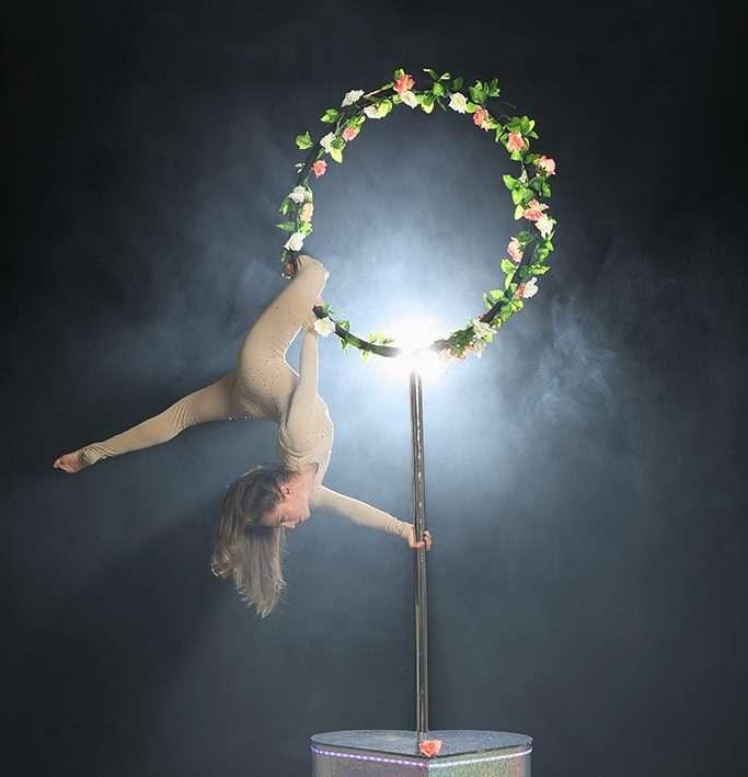 Aerial Hoop Performer - Floral